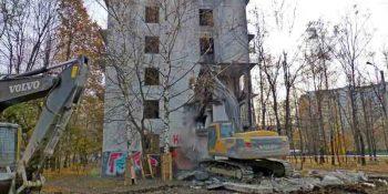 пятиэтажка, снос, реновация