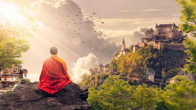 храм, медитация